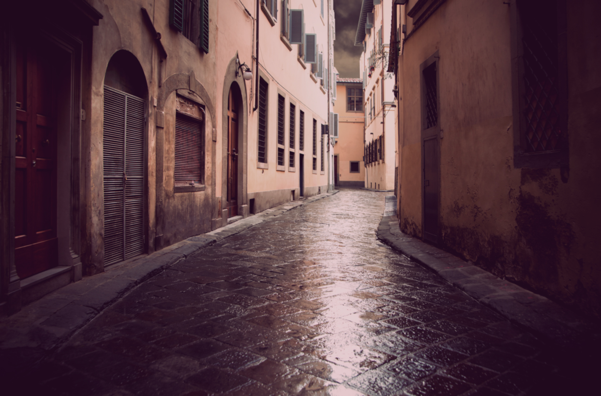 A street of Florence