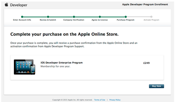 Step by Step: How to get an Enterprise App Developer License