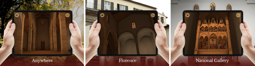 Hidden Florence experience shown in different locations