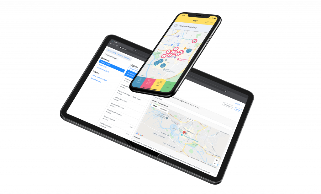 Salisbury Trails CMS and App