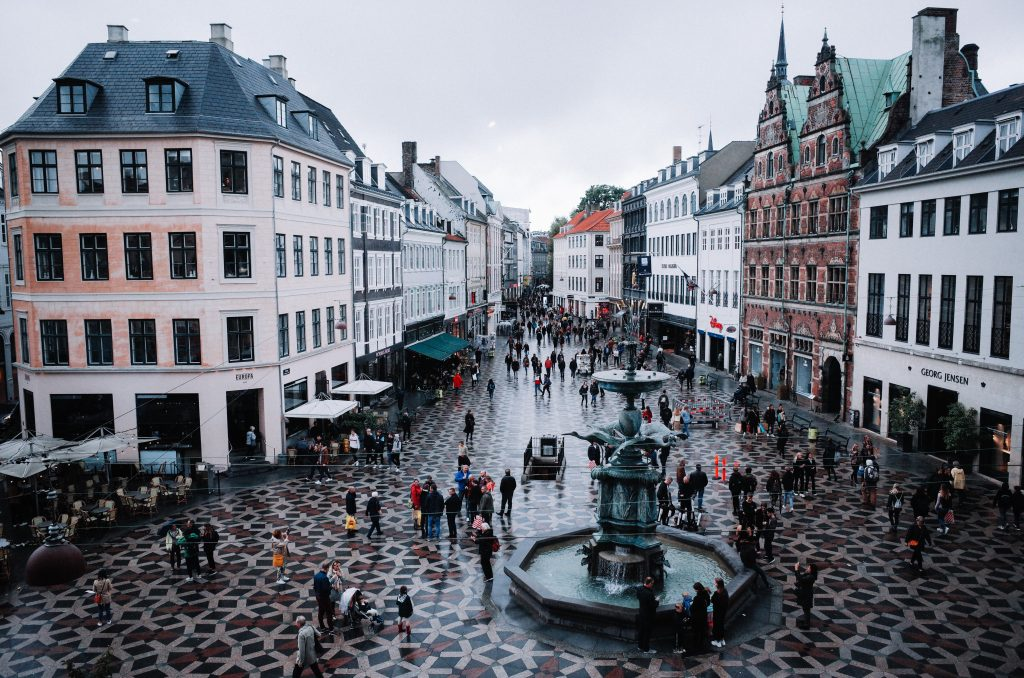People walking on street during daytime in Copenhagen